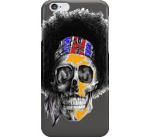 Hendrix Skull in color iPhone Case/Skin