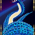Big Blue Snake From Some Interesting Place by Lotacats
