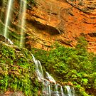 Katoomba Falls .. one more time by Michael Matthews