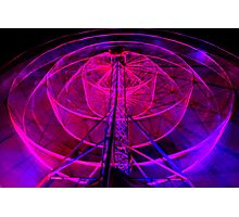 Wheel of Light - Dark Mofo 2014 Photographic Print