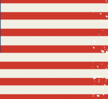 America Graffiti Flag Sticker