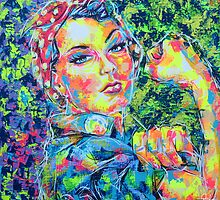 ROSIE THE RIVETER by artxr