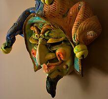 Devilish Clown by Al Bourassa