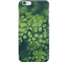 Little Green Leaves iPhone Case/Skin