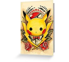 Pikachu Flash  Greeting Card