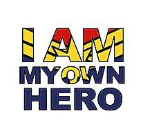 My Own Hero Captain Marvel Photographic Print