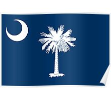 South Carolina State Flag Poster