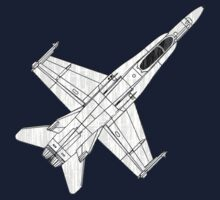 F-18 Hornet Jet Fighter by quark