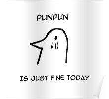 Punpun is Just Fine Today Poster