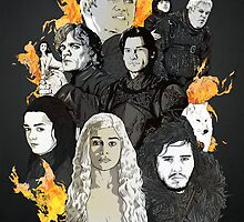 The Game of Thrones by rjartworks
