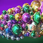 Colourful Baubles by Rosemary Sobiera