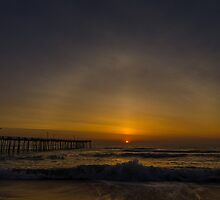 solar halo sunrise by johnlackphoto