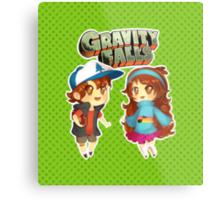 Gravity Falls Cuties Metal Print