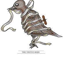 Virtue Bird  by david michael  schmidt