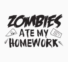 Zombies Ate My Homework by DesignFactoryD