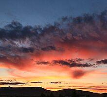 sunset Winnemucca  by DonActon