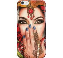 Arabic Beauty iPhone Case/Skin
