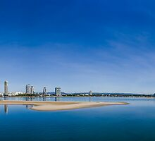 Gold Coast Broadwater, QLD, Australia by Ann Pinnock