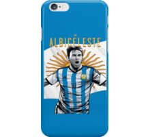 Messi Argentina World Cup Shirt iPhone Case/Skin
