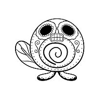Poliwag de los Muertos | Pokemon & Day of The Dead Mashup Photographic Print