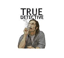 Rust - True Detective  Photographic Print