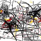 Study for abstract Made on Paint  by BenPotter