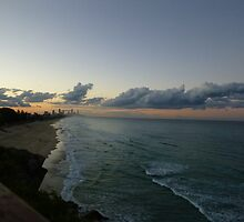 Looking towards Surfers Paridise by blissphotos