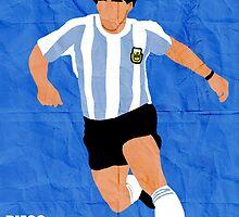 Diego Maradona by sdbros