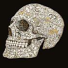 Ornamental skull by Mikael Biström