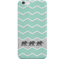 Three Elephants iPhone Case/Skin