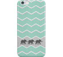 Three Elephants iPhone Case/Skin