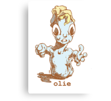 mr Olie, is a friendly guy...oh do you have food Canvas Print