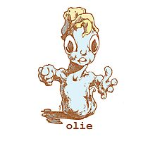mr Olie, is a friendly guy...oh do you have food Photographic Print