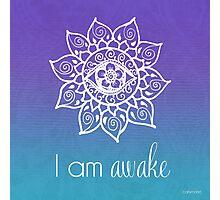 I AM Awake Photographic Print
