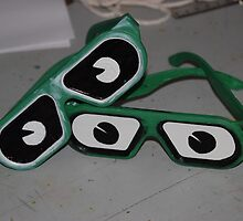 Glasses with eyes by HannahLstaples