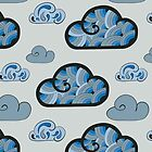 Cloudy background by Xinnie