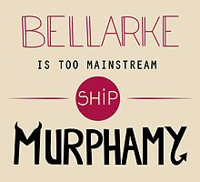 Bellarke is too mainstream by Tardisly