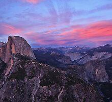 Sunsent: Glacier Point, Yosemite, CA., 15 June 2014 by quistphotog