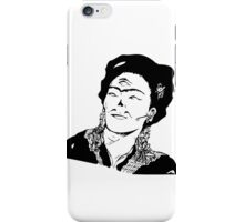 frida kahlo Illuminati iPhone Case/Skin