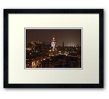 Edinburgh by night Framed Print