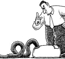 Bad vacuum cleaner by MarkHackett