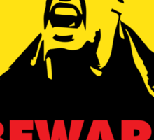 Beware of the Suarez Sticker