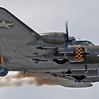 B-17 Flying Fortress Memphis Belle by © Steve H Clark
