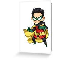 Batman & Robin    Damian Wayne Greeting Card