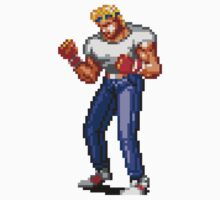 Streets of Rage 2 - Axel Stone  by hypetees