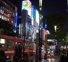 Ginza, Tokyo by Adrian Connock