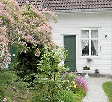 Cottage on the Fjord by Kathleen Brant