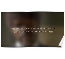 My name is the lord Poster