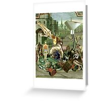 Renaissance Bump Start. Greeting Card