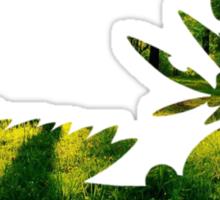 Mega Sceptile used Leaf Storm Sticker